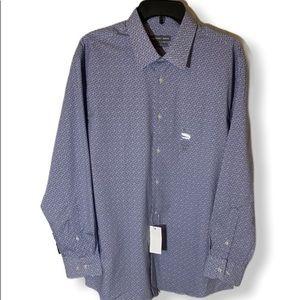 Geoffrey Beene slim fit 16-16 1/2 long sleeve